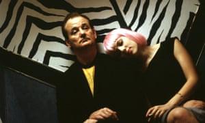 Bill Murray and Scarlett Johansson in Lost in Translation.