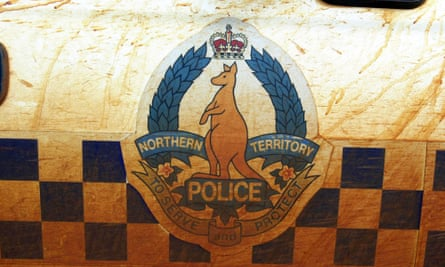 A Northern Territory police officer has apologised for putting an eight-year-old Indigenous boy into a police van.