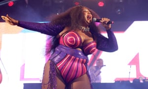 Lizzo at the Reading festival.