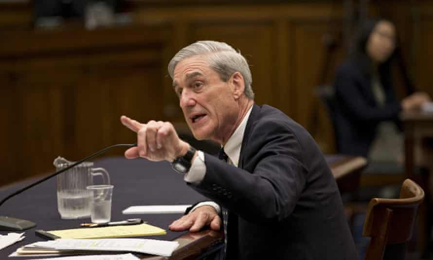 Robert Mueller, now special counsel on the FBI's investigation, in Washington.