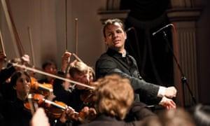 Not your average Mahler … conductor Teodor Currentzis.