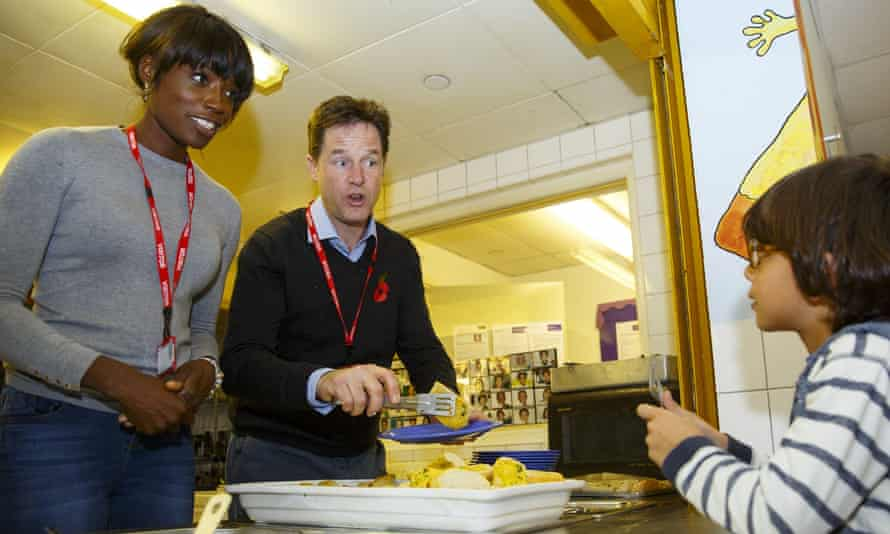 Deputy Prime Minister Nick Clegg visit to Weston Park Primary School in Crouch End, London