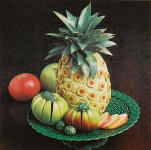 Cheese pineapple