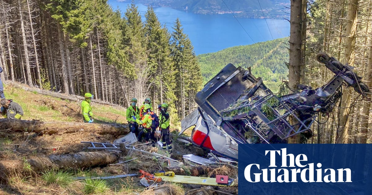 Italy investigates alleged abduction of boy who survived cable car crash