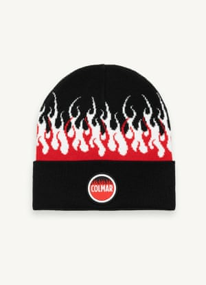 Hot headRaise the heat on your winter look with Italian sportswear label Colmar's collaboration with Vision of Super X Colmar AGE. Beanie, £39, colmar.it