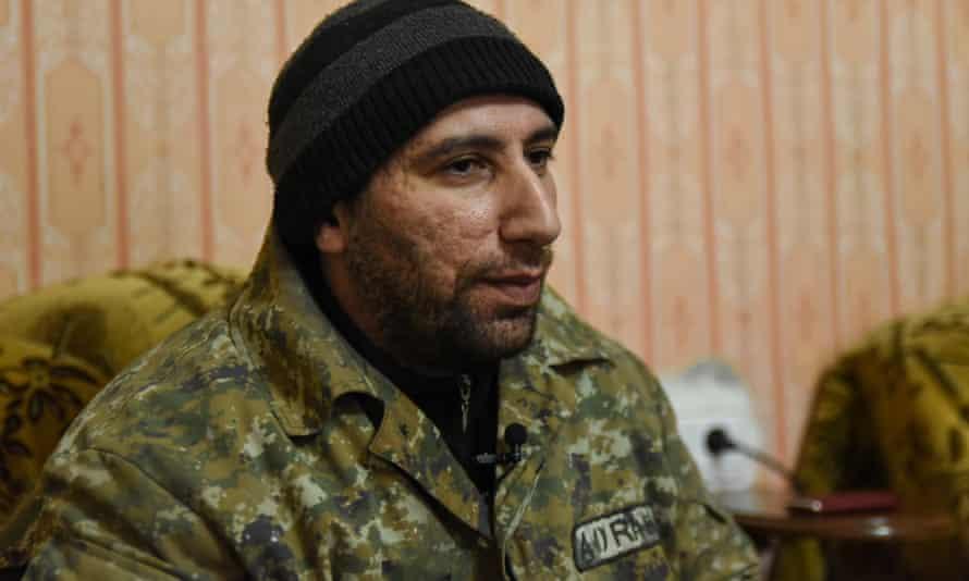 Armenian construction worker and Troika network proxy Armen Ustyan