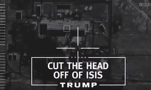 A screengrab of Donald Trump's first campaign ad.