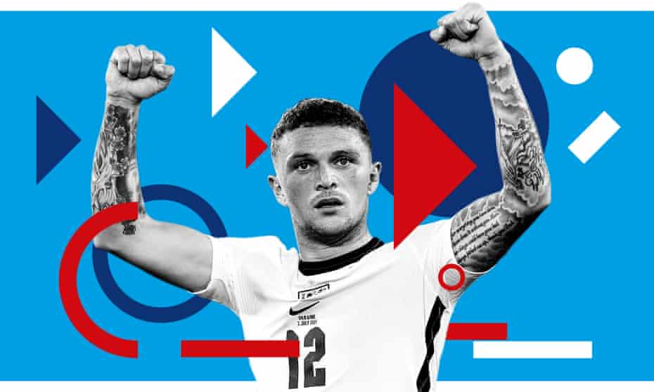 England defender Kieran Trippier. 'It's been an unbelievable season and it motivates me to win more, even at my age.'