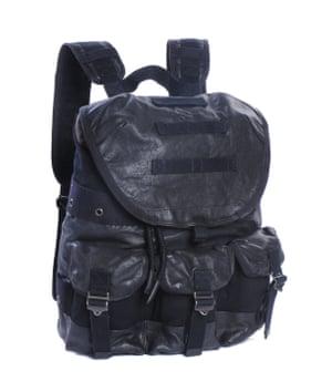 Backpack, £280, by Diesel.