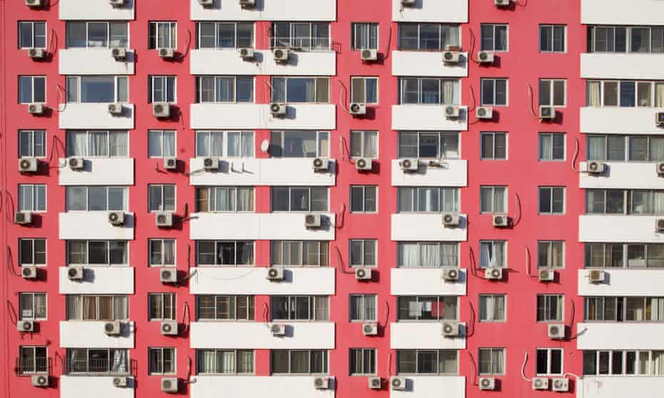 High-rise housing in Beijing.