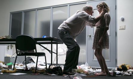 Jeff Daniels and Michelle Williams in Blackbird, a 'soul-searcher of a play'.