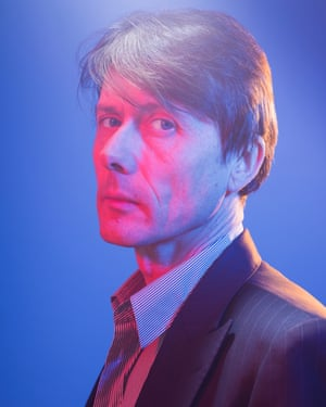 Suede frontman Brett Anderson photographed in London for an interview in the New Review.