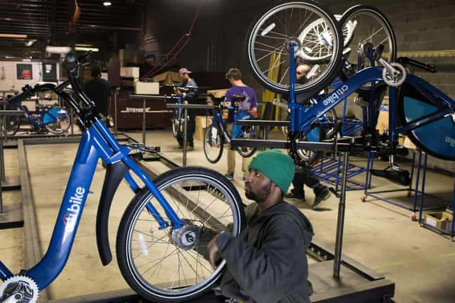 Detroit Bikes recently completed a contract for cycle share giant Citi Bike.