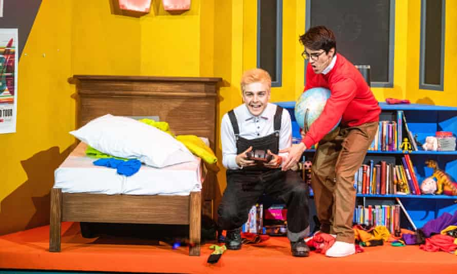 Martin Quinn as Oor Wullie and Eklovey Kashyap as Wahid.