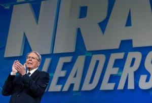 Wayne LaPierre, executive vice-president of the NRA.