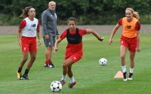 Liverpool FC Women training
