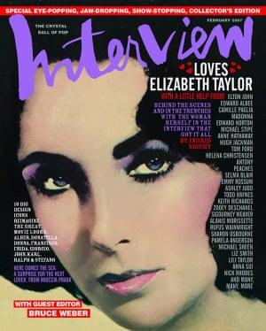 Elizabeth Taylor February 2007