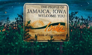 Jamaica, Iowa, is a town of 217 people with a small library, a post office and a single restaurant.