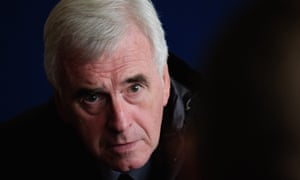 Labour's John McDonnell attributes his volte-face to a visit to Redcar steelworks, where 2,200 jobs are being lost.