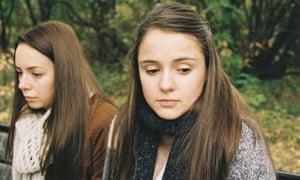 Sacha Parkinson as Luisa and Molly Wright as Alex in Apostasy