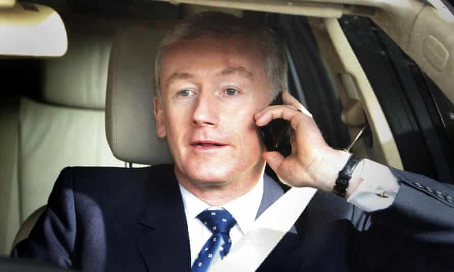 Former Royal Bank of Scotland chief executive Fred Goodwin, pictured in 2008