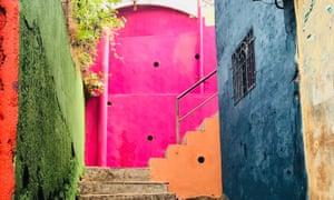 An alley in the Asalpha slum