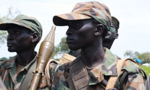 South Sudanese troops