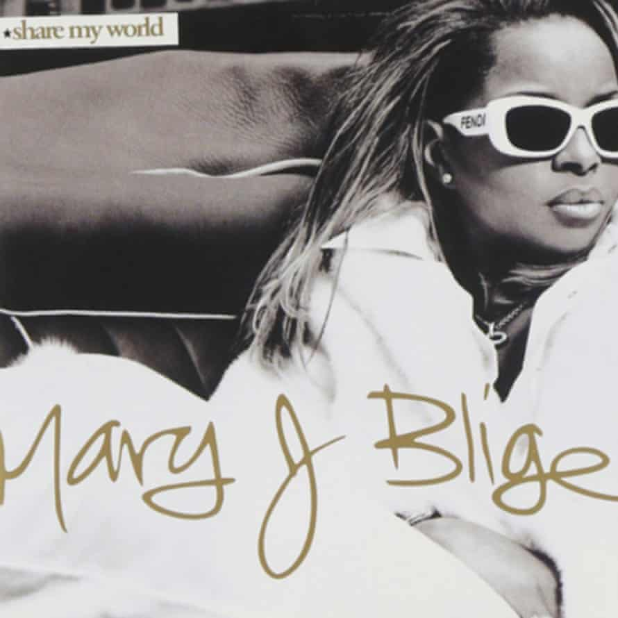 The album artwork for Share My World by Mary J Blige.