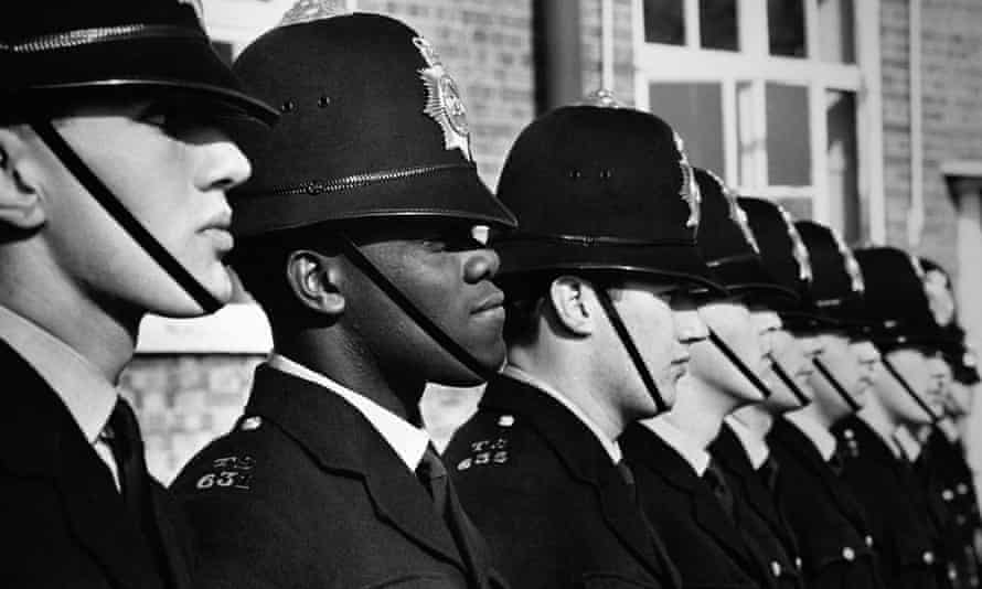 Norwell Lionel Roberts, the first black police officer to join the Metropolitan police, in 1967.