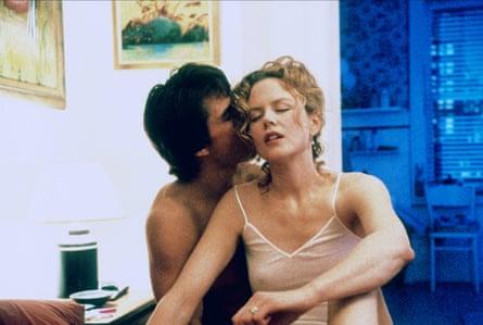 Tom Cruise and Nicole Kidman in Kubrick's Eyes Wide Shut.