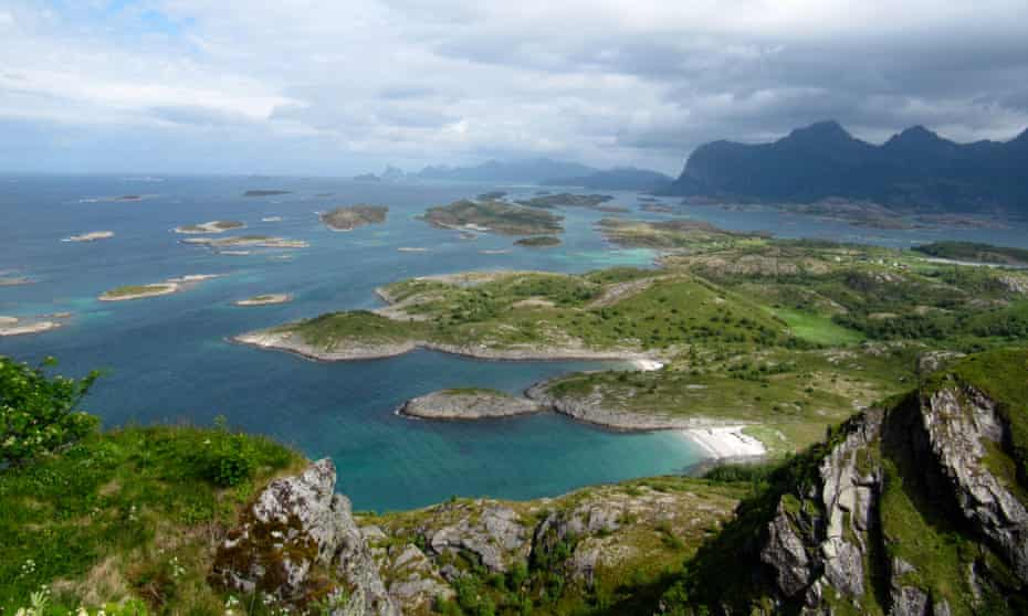 View over the Steigen archipelago