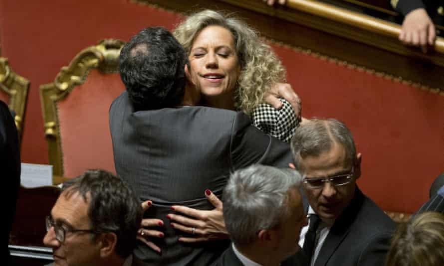 Italian senator Monica Cirinnà