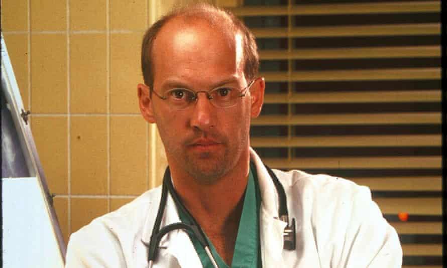 Anthony Edwards as Dr. Mark Greene in ER.