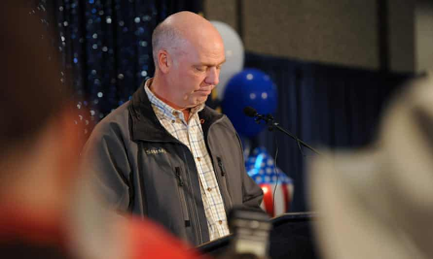 Gianforte pleaded guilty to a misdemeanor assault and was sentenced to community service and anger mangement classes.