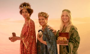 Zoe Adjonyoh, Monica Galetti and Claire Ptak, the judges of this year's taste tests.