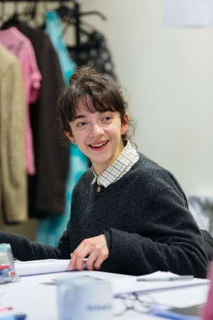 Patsy Ferran during rehearsals, Royal Court-153