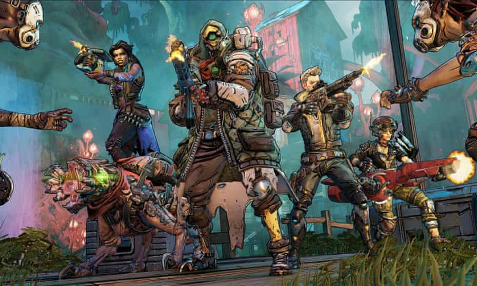 Borderlands 3 … for those who love shooting and, well, looting.