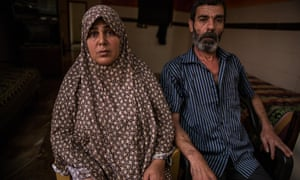 Salwa and Mohamed Bakr lost their 11-year-old son during the air strike on Gaza City's beach in July 2014.