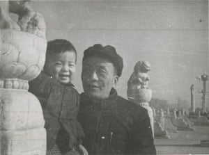 'He was a passionate, romantic fighter. A soldier' … Ai Weiwei and his poet father Qing in 1958.