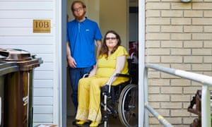 Julie and Sam Sharp, who live in Rotherham, say they are lucky to get one meal a day.