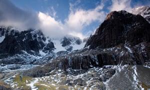 Ben Nevis North Face Cloud Snow. Image shot 2007. Exact date unknown.<br>A9047T Ben Nevis North Face Cloud Snow. Image shot 2007. Exact date unknown.