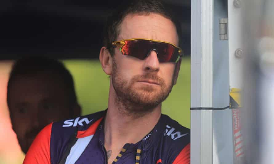 Bradley Wiggins during the Stage 5 of the Tour of Britain.