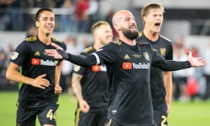 Los Angeles FC's black and gold kit helped make a splash in their first season