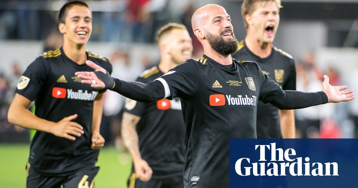 cec577239 Los Angeles FC mark arrival with Hollywood ending to open new stadium