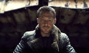 Ryan Gosling as K in Blade Runner 2049.