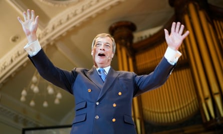 Farage's new Brexit party has swept into the lead in polling for the European elections.