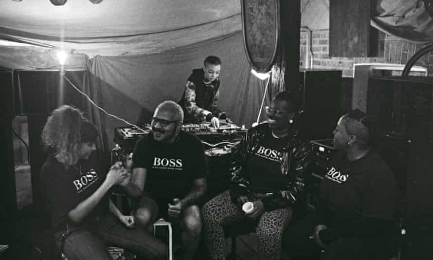 Undated handout photo of Black Obsidian Sound System (B.O.S.S.) who have been shortlisted for the 2021 Turner prize.