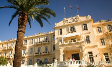 Old Winter Palace Hotel.