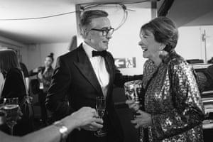 Steve Coogan and Joan Bakewell
