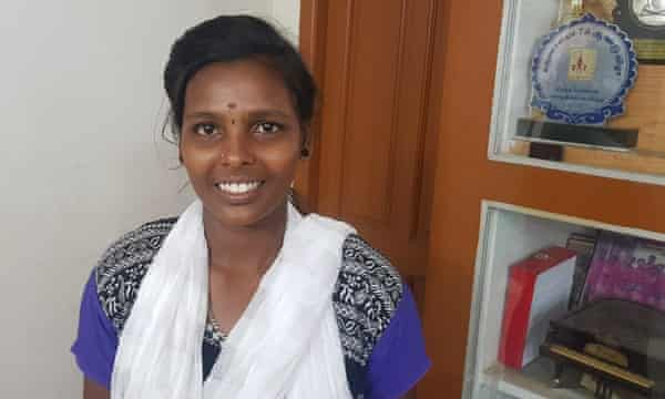 Gomathy, 14, from Chennai, India